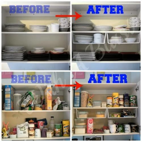 Elke Dag Een Klus(je). Dag 1. Keukenkasten Organiseren